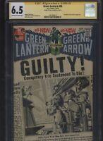 Green Lantern #80 CGC 6.5 SS Neal Adams - DENNY O'NEIL 1970