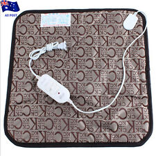 Pet Electric Heat Pad Heating Heater Mat Warmer Blanket Dog Bunny Heated Bed EA