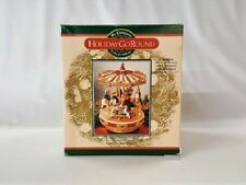 MR CHRISTMAS COLLECTIBLE HOLIDAY MERRY-GO-ROUND