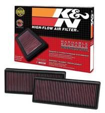 K&N 33-2474 Air Intake Filter Set Mercedes Benz CL500 CLS500 S500 E63 S63 E550