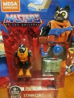 💥 MEGA CONSTRUX MOTU HEROES SERIES 2/WAVE 2 STINKOR Mini Action Figure 2020
