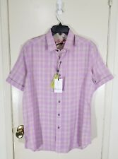 Robert Graham Campground Embroidered Button-Front Shirt Size Small Brand New NWT