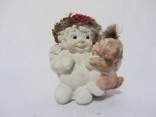 "DREAMSICLES LOVE MY PUPPY ANGEL & PUPPY CAST ART DC131  3 3/4"" FIGURINE"
