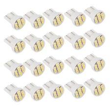 20 x Bombilla Lampara T10 8 LED SMD Luz Blanco para Coche Matricula T5