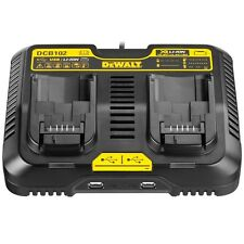 DeWalt battery charger Multi Voltage Twin Port Charging Station with USB