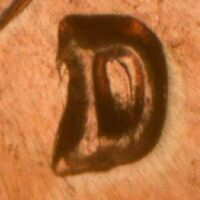 1961-D Lincoln Memorial Cent RPM-003 Stage B BU