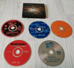 RARE RETRO ACTION HALL OF FAME PC GAME CD ROM CARMAGEDDON INTERSTATE 76 MECH MDK