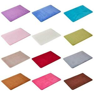 40*60 Absorbent Memory Foam Carpet Bath Bathroom Bedroom Mat Floor Rug Hot K4Z4