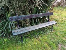 Banc De Jardin Ancien Pieds Fonte En Vente Ebay