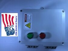 Magnetic Motor Starter With LED Push Button Switch 12.5HP 480V, 220VAC, 3PH, 18A