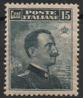 1911 REGNO MICHETTI CENT.15 N.96 G.I.** BEN CENTRATO