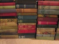 Random Lot of 10 ANTIQUE Hardcover Books from 1800's - 1960's - Decorating +