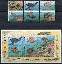 Motive Schildkröte Landschildkröte Mnh 4er Set Briefmarken 2011 Burundi #897-900