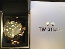 TW STEEL: CB92. 50mm. Black & Gold. RRP £500.