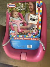 2-in-1 Snug and Secure Swing - Magenta