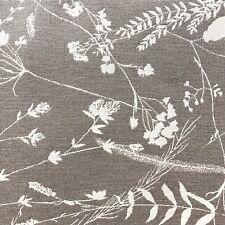 Ballard Sunbrella Performance Upholstery Fabric Botanical Taupe By The Yard