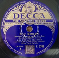 Roy Fox And His Band - Blue Moments / Without That Certain Thing -  Decca F.3768