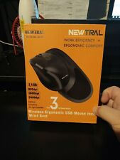 Newtral Wireless Ergonomic USB Mouse 3rd Generation / 2.4GHz / 2400dpi