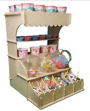 Y340 Soporte de pared Donut Dona Fiesta Boda Cumpleaños Dulces Candy Bar Shop Cart