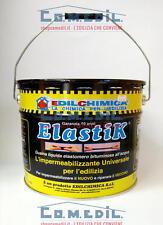 Edilchimica Elastik kg.10 guaina bituminosa liquida all'acqua