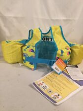 Speedo Kids Safe Splash Learn to Swim Aid Flotation Device Life Vest 30-50 Lbs
