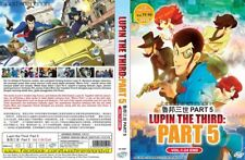 ANIME DVD~Lupin The Third:Part 5(1-24End)Eng sub&All region FREE SHIPPING+GIFT