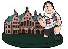 """NEUHEIT ! Gartenzwerg """"Römer""""  Eintracht Frankfurt Fussball Fanartikel"""