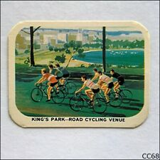 Vita-Brits VII Commonwealth Games Perth #10 Cycling 1962 Cereal Card B (CC68)