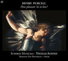 Henry Purcell : Henry Purcell: How Pleasant 'Tis to Love! CD (2013) ***NEW***