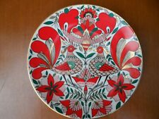 Russian style plate Russian fairy tales MARKED ЛФЗ