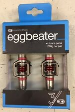 Crank Brothers Eggbeater 3 Pedals Red NIB XC