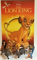 Disney The Lion King Movie Figure Set 10 Favorite Characters Simba and More!
