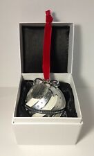 AUTHENTIC PANDORA CHRISTMAS SPECTACULAR ROCKETTES SILVER ORNAMENT PRE-OWNED