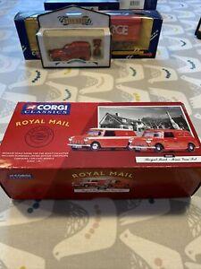 corgi classics royal mail Mini Van Set 08002