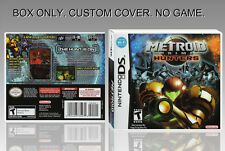 NINTENDO DS : METROID PRIME HUNTERS. ENGLISH. COVER + ORIGINAL BOX. (NO GAME)
