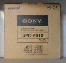 Original Sony UPC-5510 Color Printing Pack UP 5000 5200MD 5250MD   OVP A