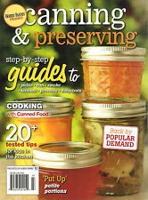 Hobby Farms CANNING & PRESERVING By Step Guides Pickle Can Smoke Dehydrate Cook
