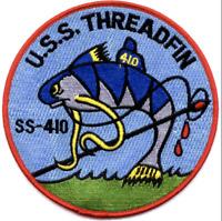 b2488 WW 2 US Navy Submarine Patch USS Threadfin SS-410 PB9