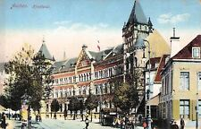 alte colorierte Foto-AK 1918 @ AACHEN - Hauptpost @Ansichtskarte
