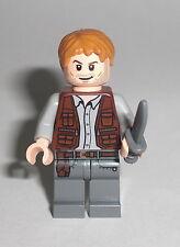 LEGO Jurassic World - Owen - Minifig Figur Dino Dinosaurier Raptor T Rex 75917