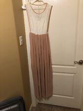 PinkBlush Pleat Dress Pink Size Small NWT