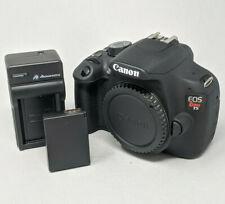 Canon EOS Rebel T5 / EOS 1200D 18.0MP Digital SLR Camera - Black (Body Only)