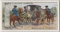 Gentleman Highwayman Maclaine and Plunkett Robber Bandit 90+ Y/O Ad Trade Card