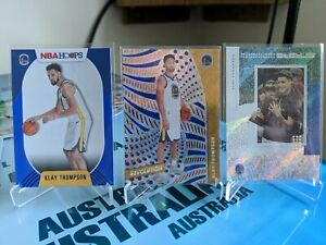 Klay Thompson Hoops Blue Status Revolution Lot Golden State Warriors nba trophy