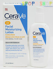 New CeraVe AM Facial Moisturizing Lotion SPF30 89ml (Dermatologist Recommended)