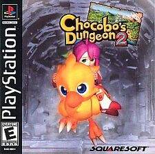 Chocobo's Dungeon 2 - PS1 PS2 Playstation Game