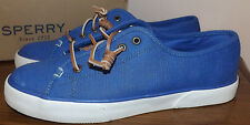SPERRY TOP SIDER PIER VIEW BALTIC BLUE SIZE 6.5 COMFY CUSHY INSOLE SHOES WOMENS