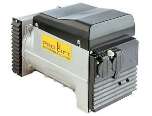 Generator für Stromaggregat 8kVA 230V 3000U/min Erzeuger EK08KVAJ , 02578, 12345