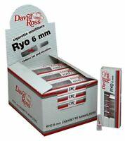 Microbocchini 6 mm DavidRoss Ryo per Sigaretta 240 micro bocchini 1 Box