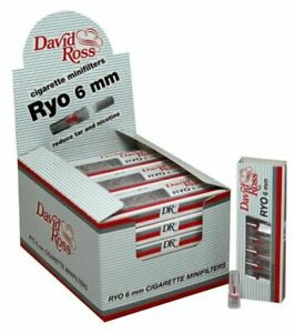 240 Microbocchini David Ross Ryo 6 mm per Sigaretta box da 24 astucci 1 Box